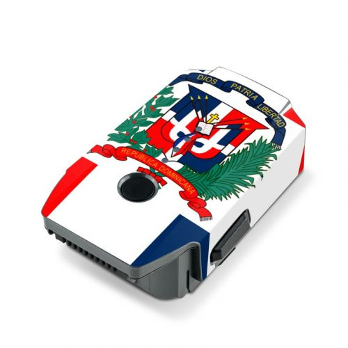 Dominican Republic Flag DJI Mavic Pro Battery Skin