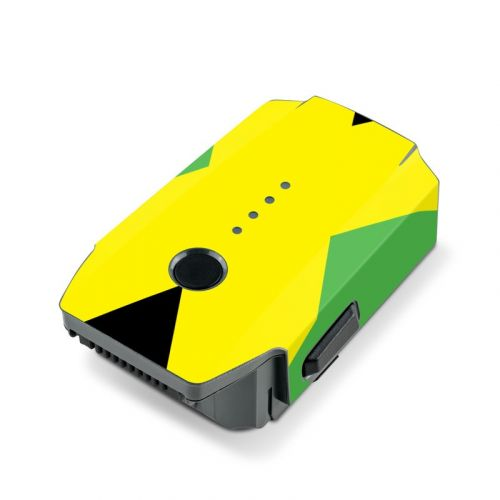 Jamaican Flag DJI Mavic Pro Battery Skin