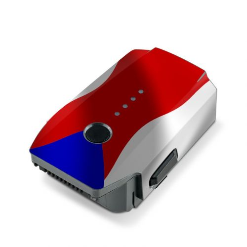 Puerto Rican Flag DJI Mavic Pro Battery Skin