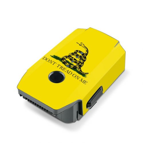 Gadsden Flag DJI Mavic Pro Battery Skin