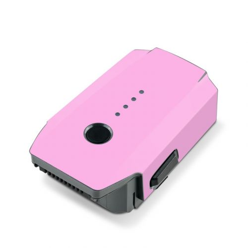 Solid State Pink DJI Mavic Pro Battery Skin
