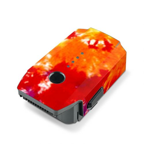 Tie Dyed DJI Mavic Pro Battery Skin