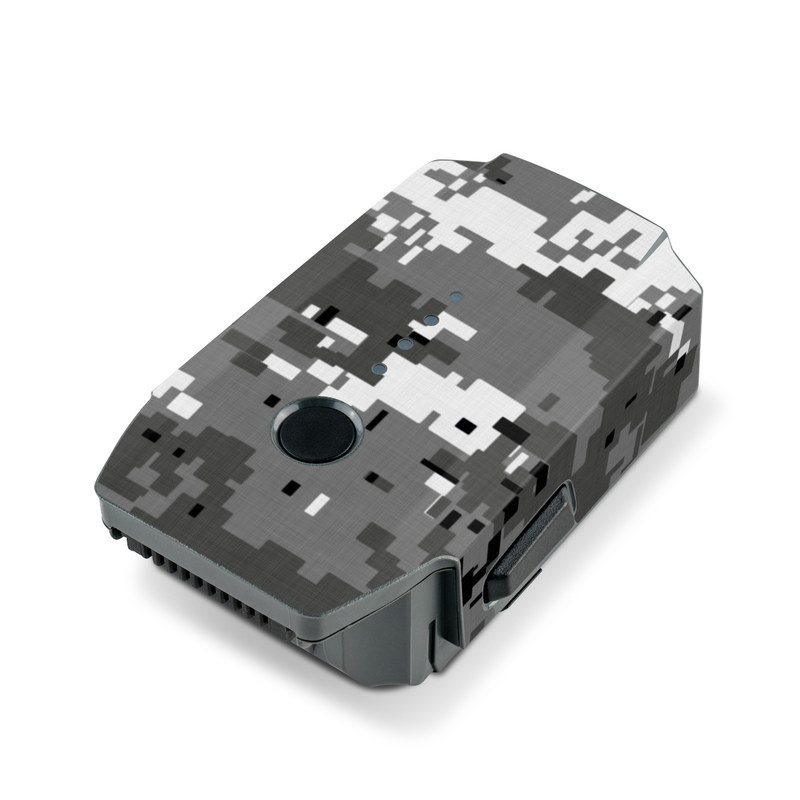 Digital Urban Camo DJI Mavic Pro Battery Skin