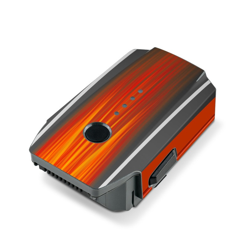 Hot Rod DJI Mavic Pro Battery Skin