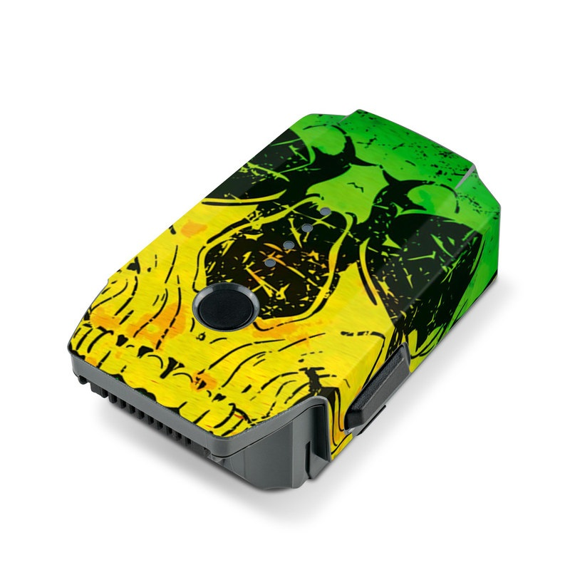 Hot Tribal Skull DJI Mavic Pro Battery Skin