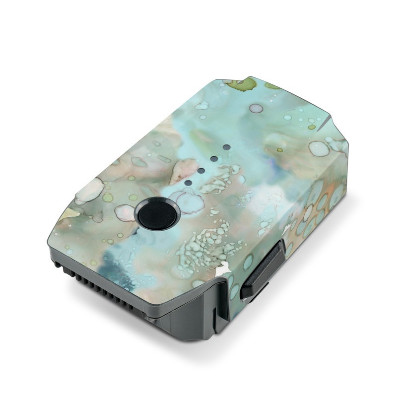 Organic In Blue DJI Mavic Pro Battery Skin