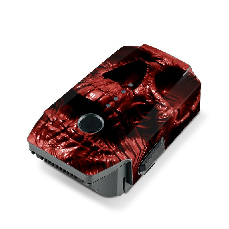 Skull Blood DJI Mavic Pro Battery Skin