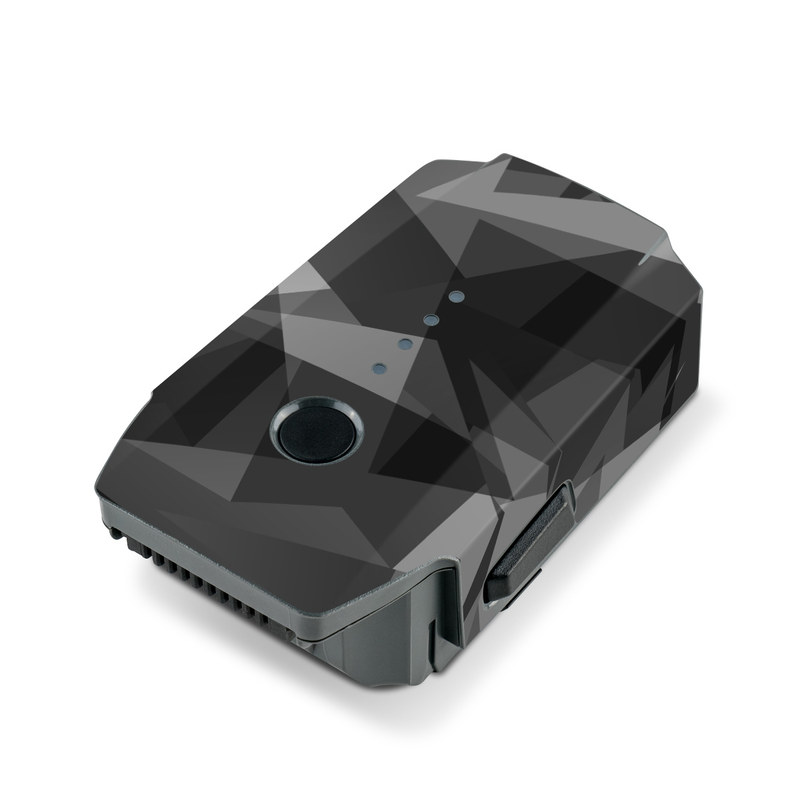 DJI Mavic Pro Battery Skin design with black, gray colors