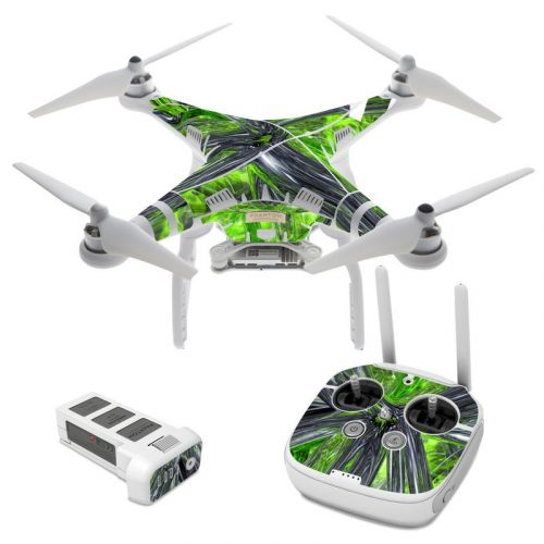 Emerald Abstract DJI Phantom 3 Skin