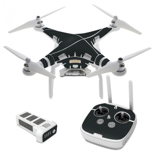 Carbon DJI Phantom 3 Skin