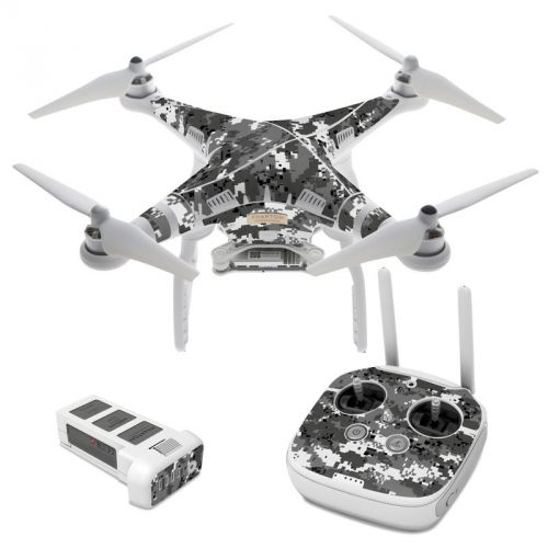Digital Urban Camo DJI Phantom 3 Skin