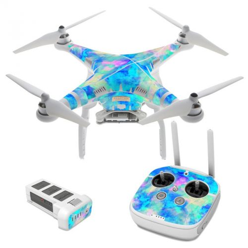 Electrify Ice Blue DJI Phantom 3 Skin