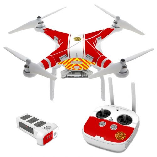 Fireproof DJI Phantom 3 Skin