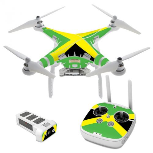 Jamaican Flag DJI Phantom 3 Skin