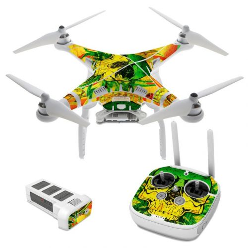 Hot Tribal Skull DJI Phantom 3 Skin