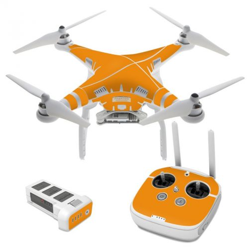 Solid State Orange DJI Phantom 3 Skin