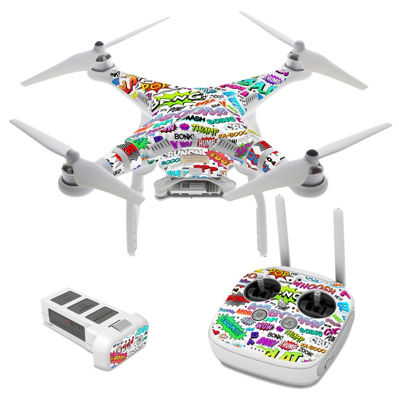 Comics DJI Phantom 3 Skin