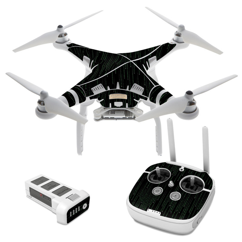 Matrix Style Code DJI Phantom 3 Skin