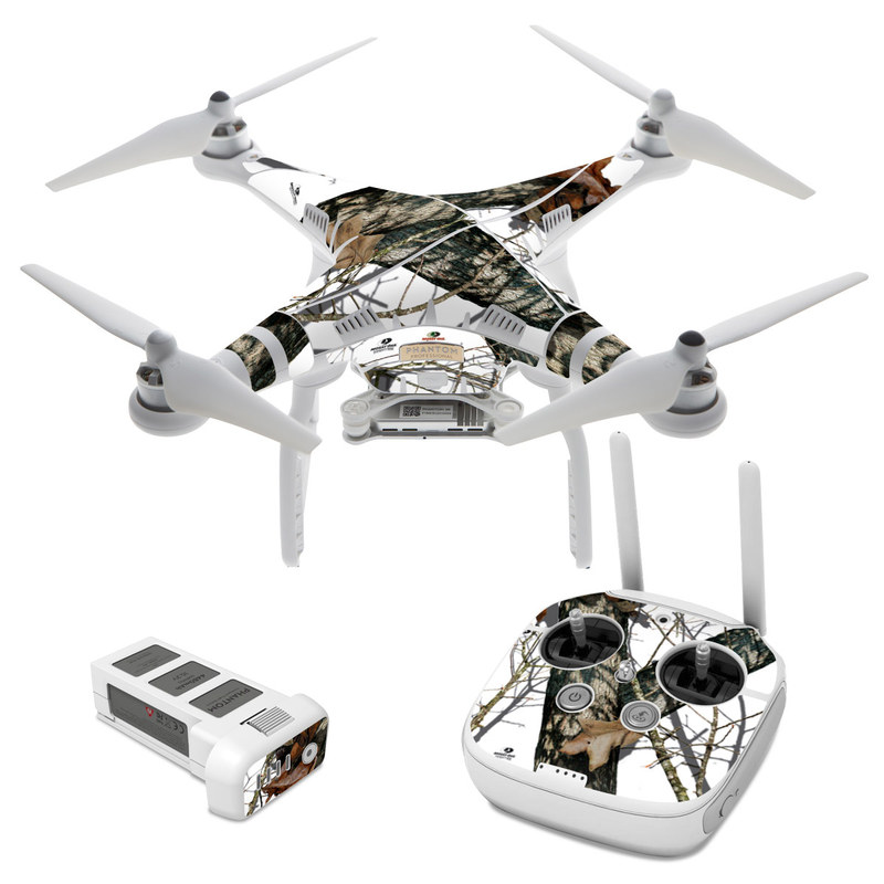 DJI Phantom 3 Skin design of Tree, Branch, Plant, Woody plant, Wildlife, Trunk, Adaptation with white, black, gray, green, red colors