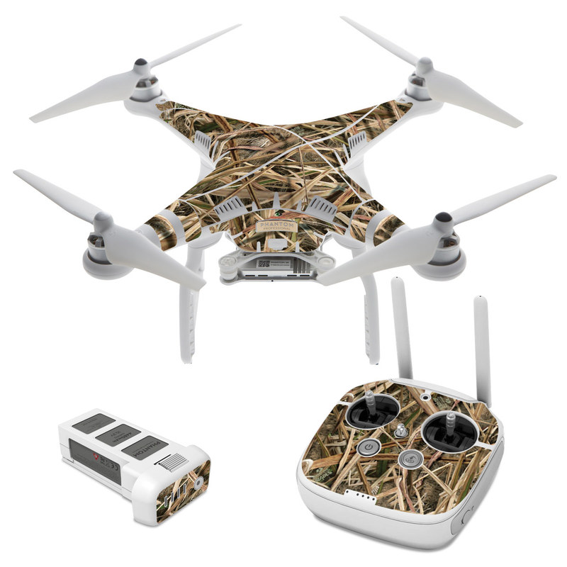 DJI Phantom 3 Skin design of Grass, Straw, Plant, Grass family, Twig, Adaptation, Agriculture with black, green, gray, red colors