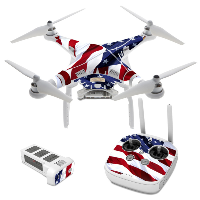 Patriotic DJI Phantom 3 Skin