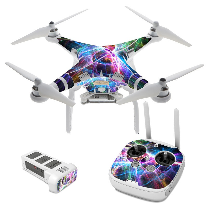 Static Discharge DJI Phantom 3 Skin