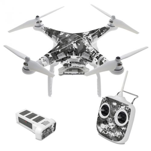 Digital Urban Camo DJI Phantom 3 Standard Skin