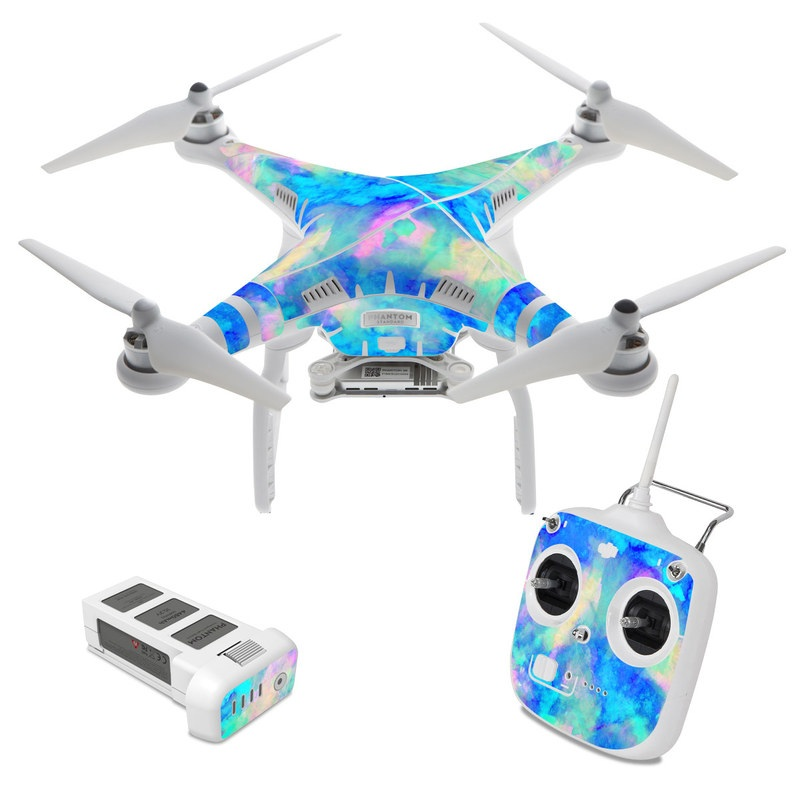 Electrify Ice Blue DJI Phantom 3 Standard Skin