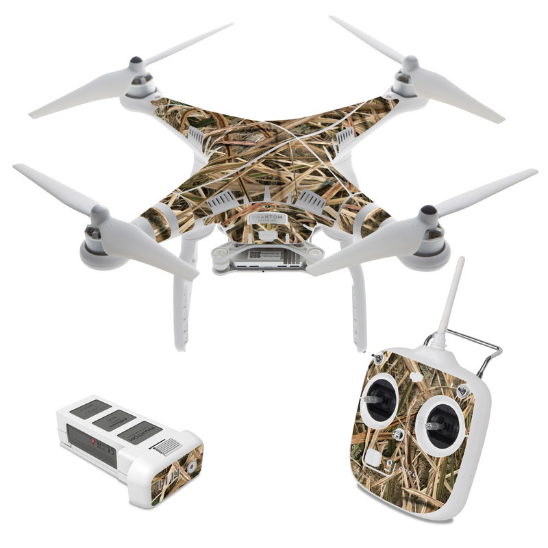 Shadow Grass Blades DJI Phantom 3 Standard Skin