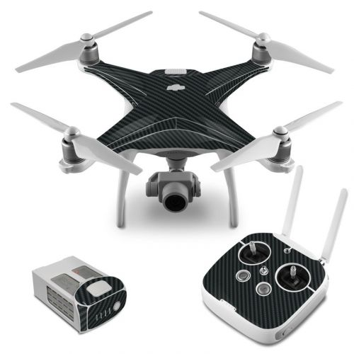 Carbon DJI Phantom 4 Skin