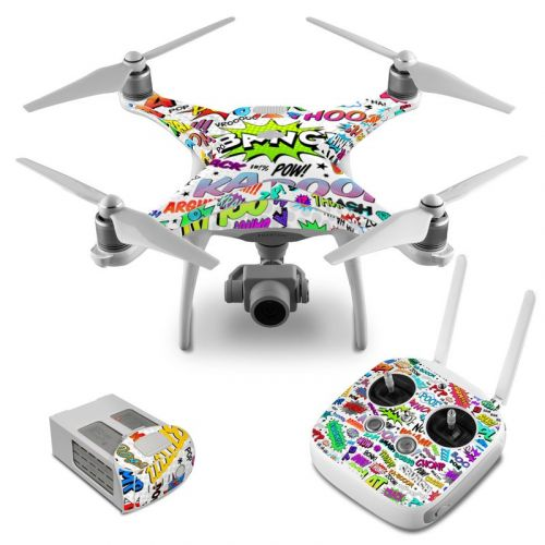 Comics DJI Phantom 4 Skin