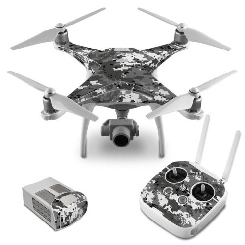 Digital Urban Camo DJI Phantom 4 Skin