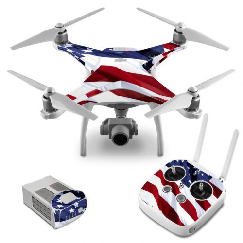 Patriotic DJI Phantom 4 Skin
