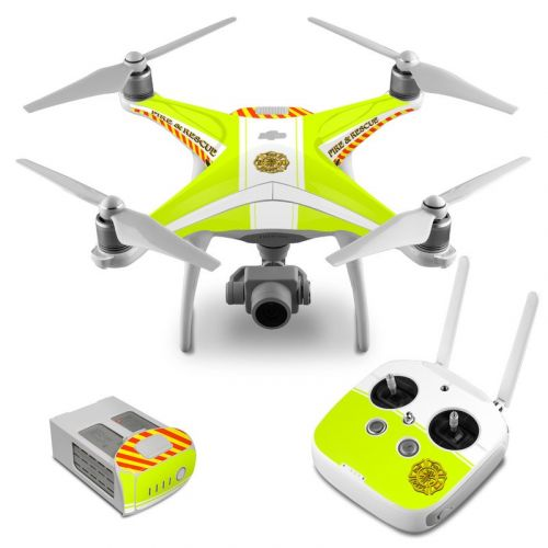 Rescue DJI Phantom 4 Skin