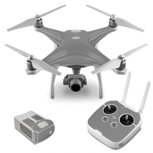 Solid State Grey DJI Phantom 4 Skin