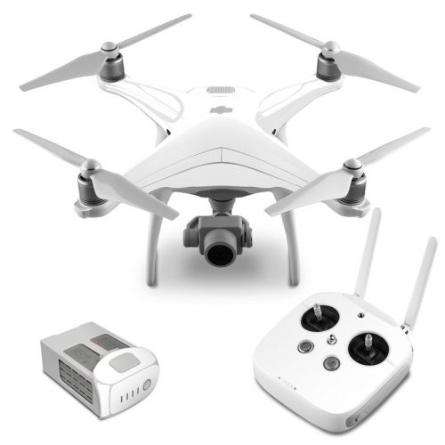 Solid State White DJI Phantom 4 Skin