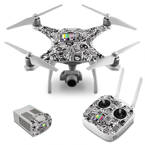 TV Kills Everything DJI Phantom 4 Skin