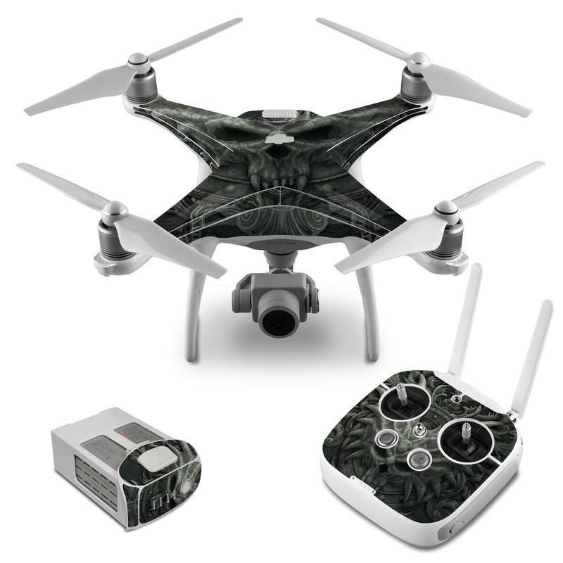 Black Book DJI Phantom 4 Skin