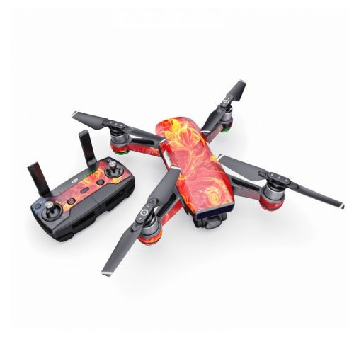 Flower Of Fire DJI Spark Skin