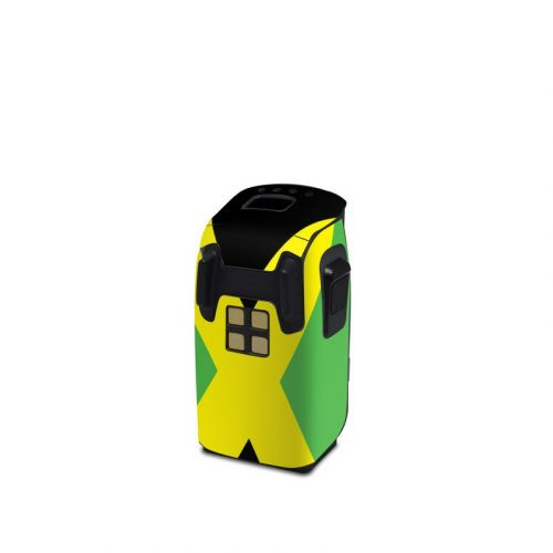 Jamaican Flag DJI Spark Battery Skin