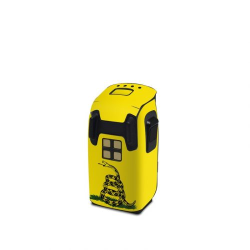 Gadsden Flag DJI Spark Battery Skin