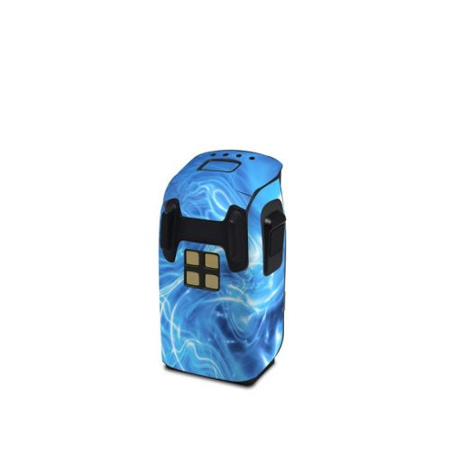 Blue Quantum Waves DJI Spark Battery Skin