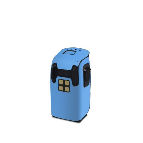 Solid State Blue DJI Spark Battery Skin
