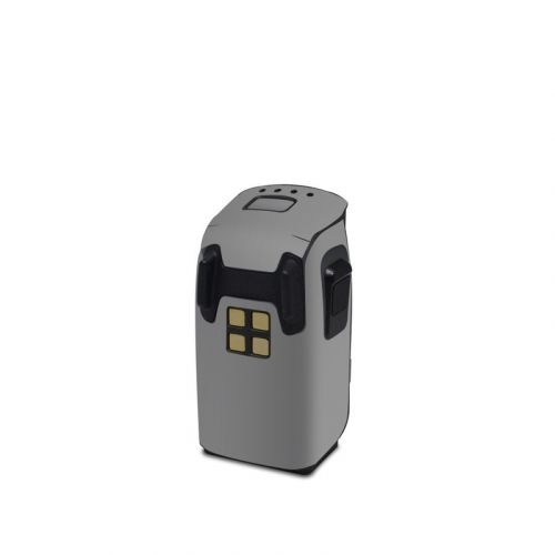 Solid State Grey DJI Spark Battery Skin