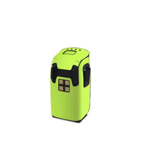 Solid State Lime DJI Spark Battery Skin
