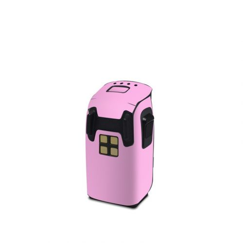 Solid State Pink DJI Spark Battery Skin