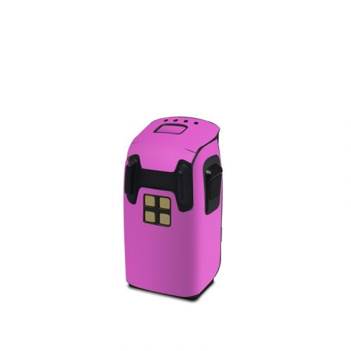Solid State Vibrant Pink DJI Spark Battery Skin
