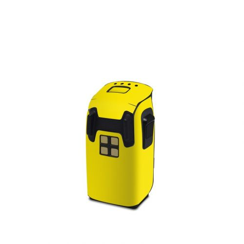 Solid State Yellow DJI Spark Battery Skin