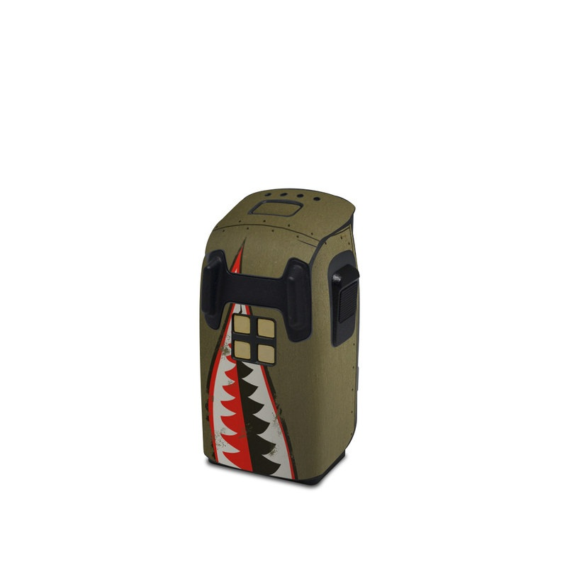 USAF Shark DJI Spark Battery Skin