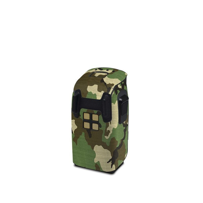 DJI Spark Battery Skin design of Military camouflage, Camouflage, Clothing, Pattern, Green, Uniform, Military uniform, Design, Sportswear, Plane with black, gray, green colors